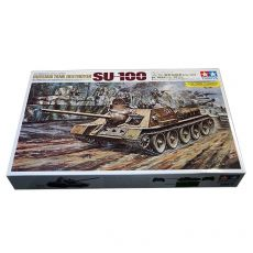 25104 СУ SU-100 Tank Destroyer 1/25