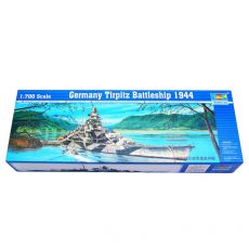 05712 Линкор Germany Tirpitz Battleship 1944 1/700