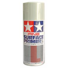87064 Tamiya Fine Surface Primer L - Light Gray