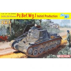 6597 Танк Sd.Kfz.265 kleiner Pz.Bef.Wg.I Initial Production